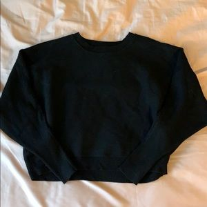 Forever 21 black baggy sweater